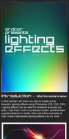 Lighting Effects Photoshop