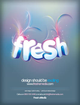 Fresh eMedia Blueprint Advert