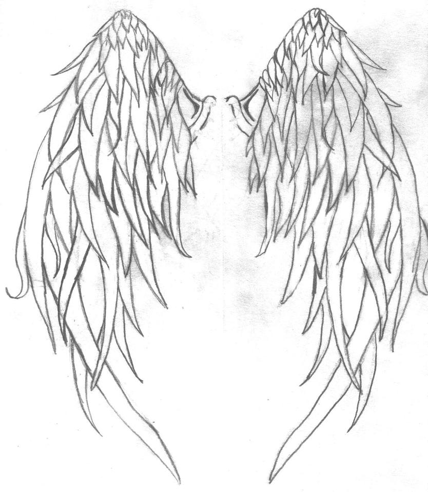 wings tattoo by ~greenwtch87