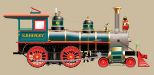 E.P. Ripley Train Engine