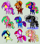 CLOSED [One hold] Point Pony Adopt Sheet #2