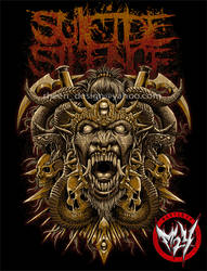 SUICIDE SILENCE by rheen