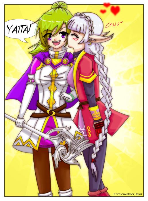 ++Yatta!++ by CrimsonValefor