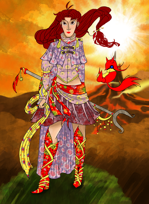 ++Jenna: Alternative Amano outfit++ by CrimsonValefor