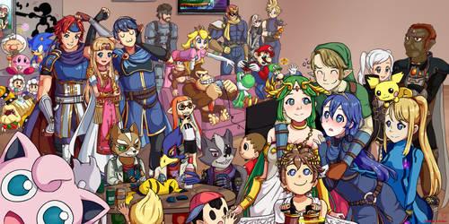 Super Smash Brothers! - Banner