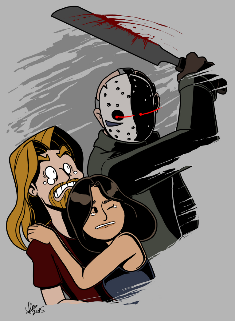 Night Of Voorhees Dood by alpha00zero