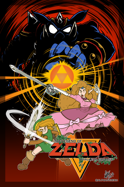 The Legend of Zelda - Hyrulean Fantasy by alpha00zero