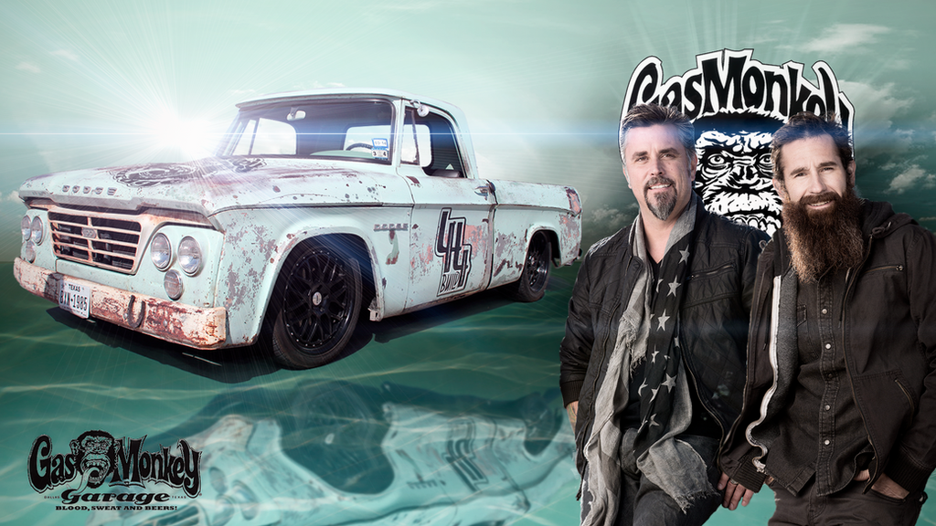 Wallpaper Gas Monkey G...