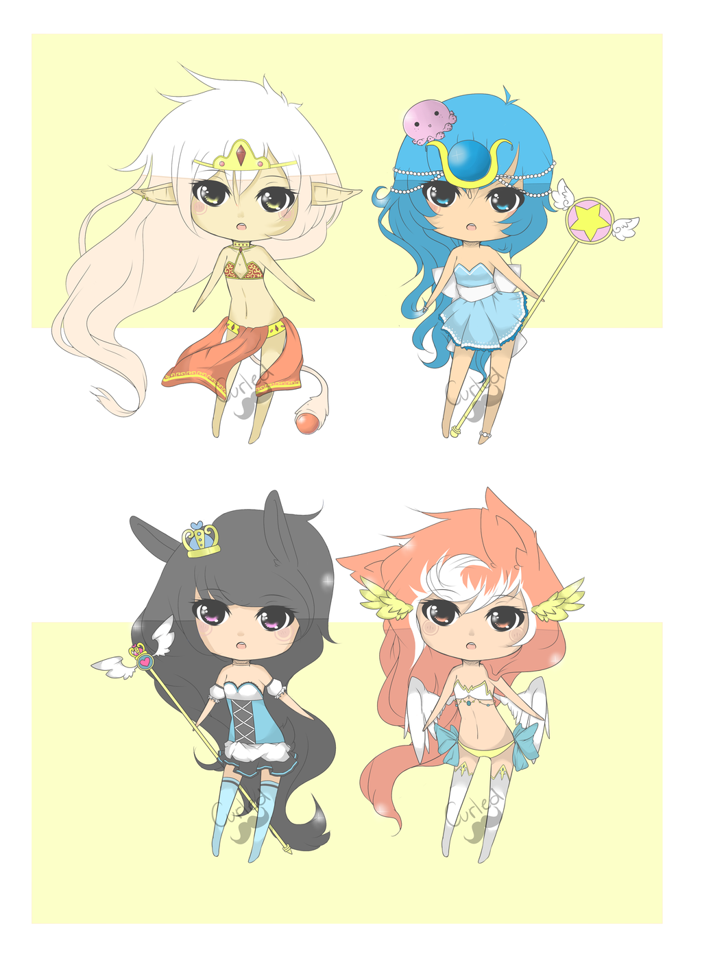 .:Magical Girl Adopts:. { closed! }[EDIT] by curled-mustache