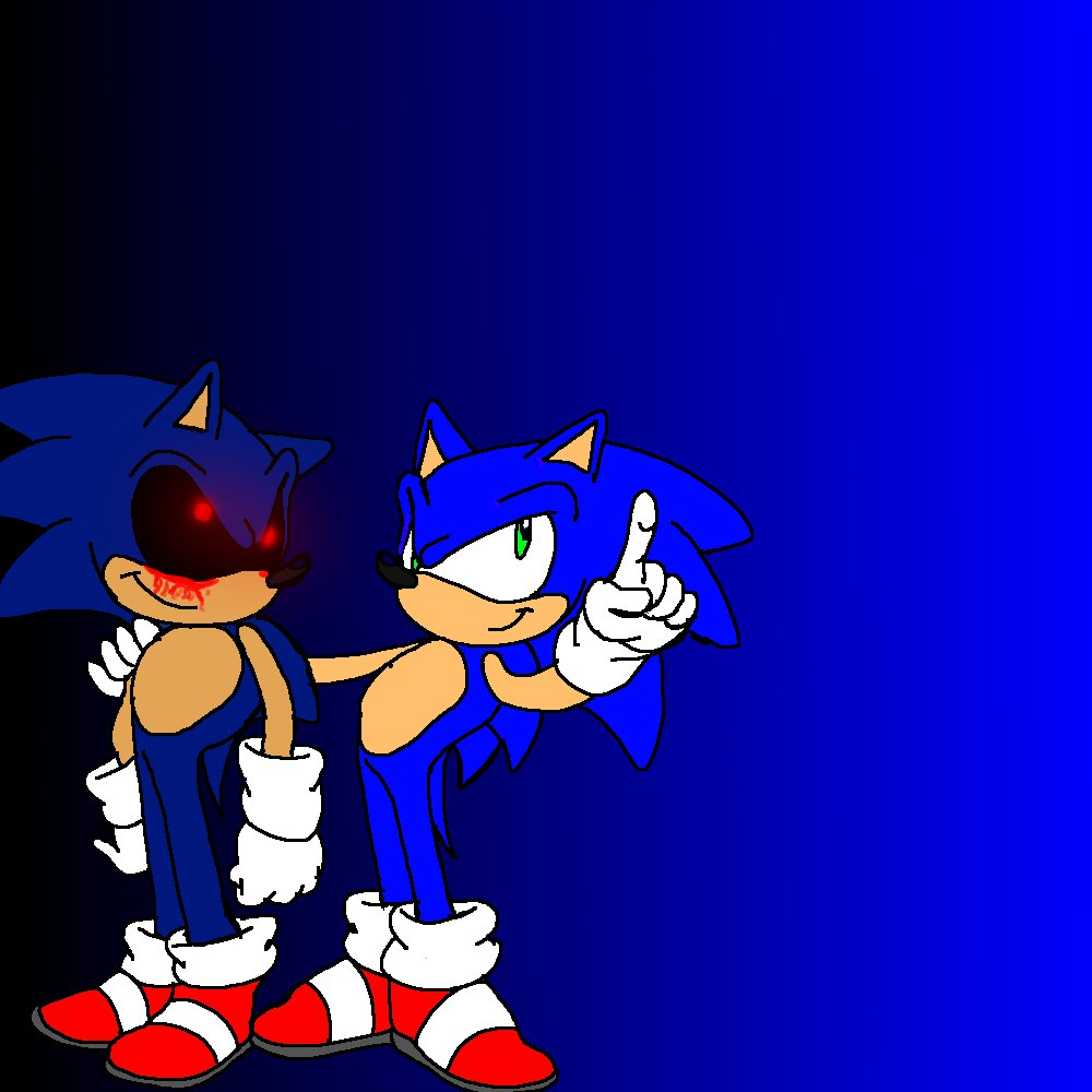Sonic And Sonic .EXE By Fox5509 On DeviantArt