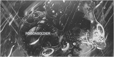 PoisonSoldier(BW) by Tihak