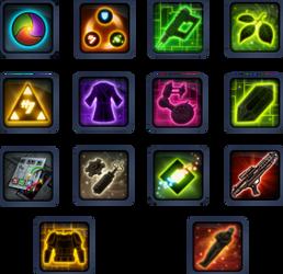 SWTOR Crew Skills Icons