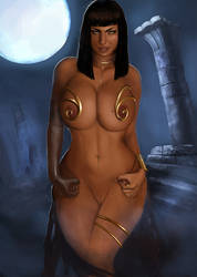 Osira's moonlight ritual by Zer0s-WS