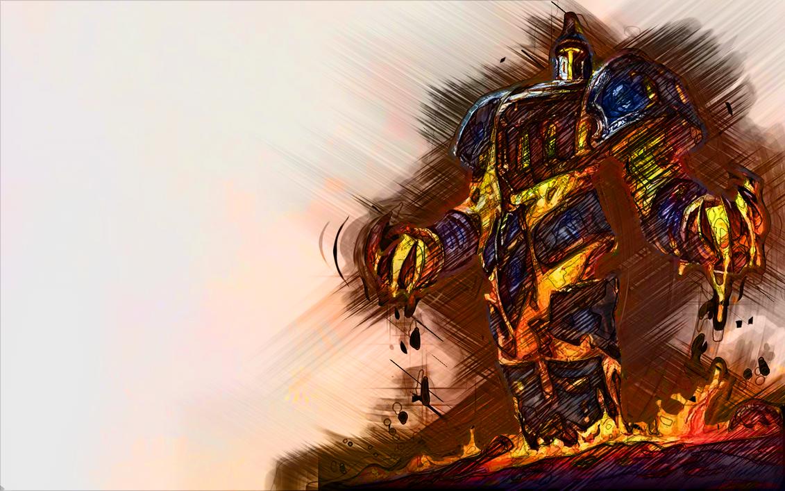 scorched earth xerath sketch by MrFr0sty