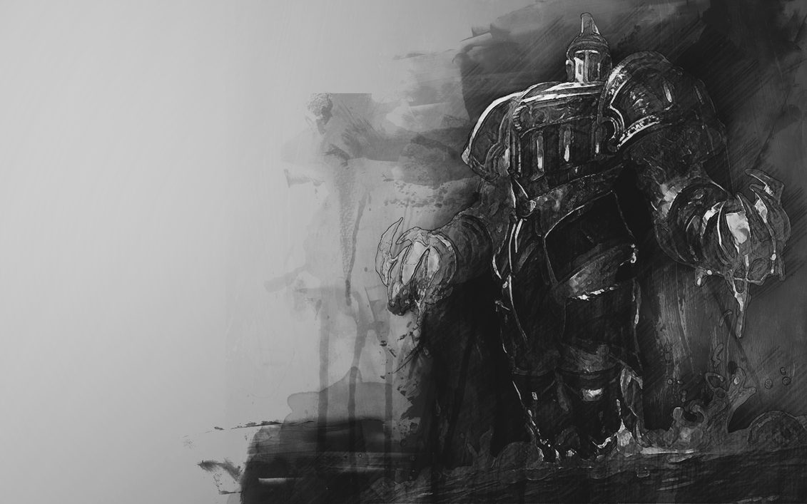 scorched earth xerath Black and white by MrFr0sty