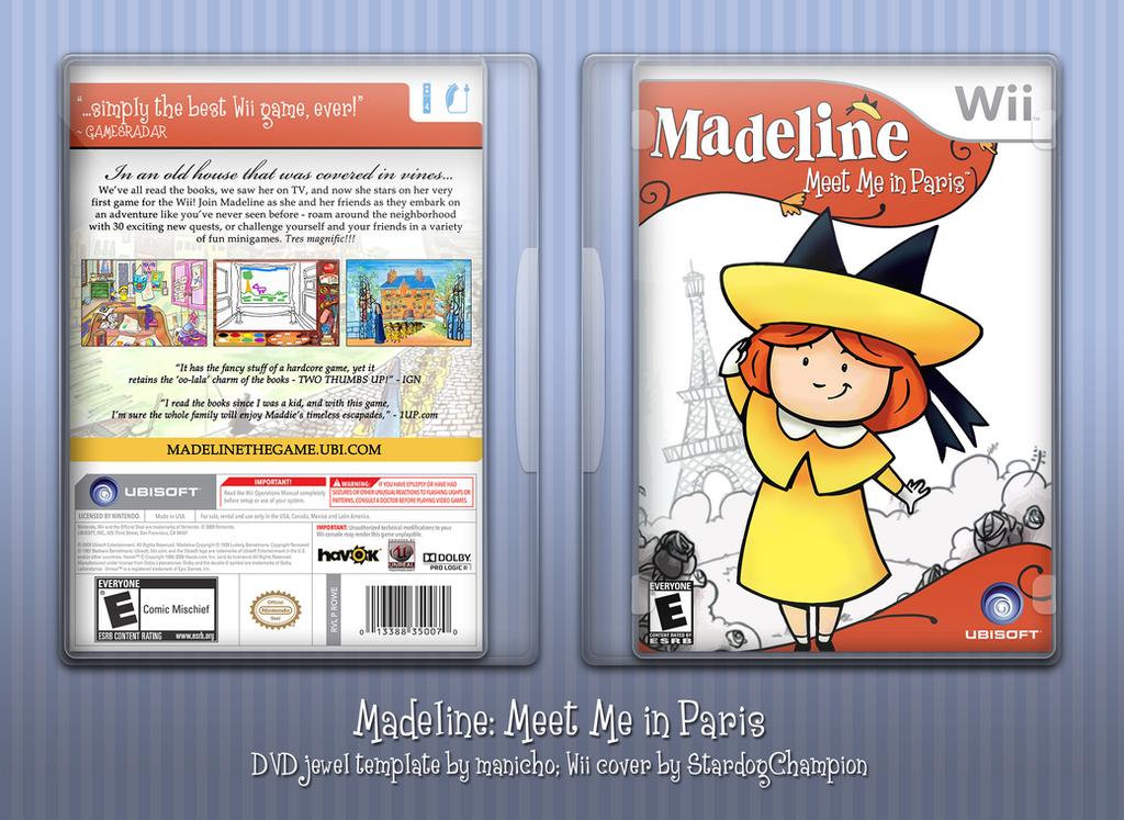 Madeline: Meet Me in Paris by huckleberrypie