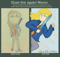 Draw this Again Meme by Rhi-Bread