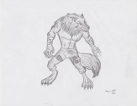 Anthroman -- Wolf