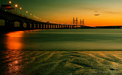 sunset bridge by bmuda