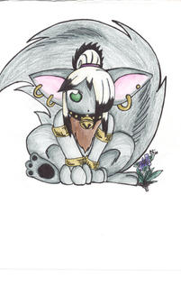 Chibi Furry Cin by DreamFox