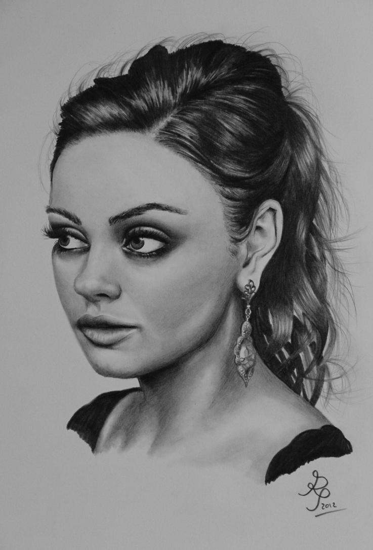 Mila Kunis by P-M-Rt