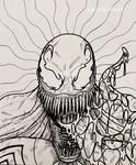 Venom - Inks by NoonYezArt