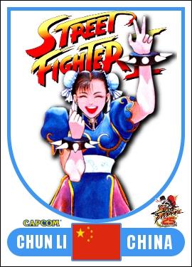 Chun Li - Street Fighter 2 Retro Card by MrABBrown