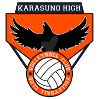 Karasuno High Volleyball Club Logo