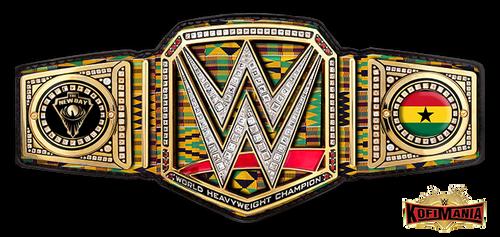 Kofi Kingston Custom WWE Title