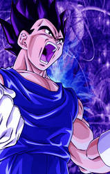 Vegeta by gilly2894