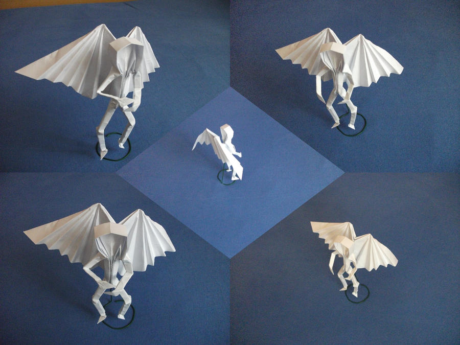 Origami Angel By Sheggie91 On Deviantart
