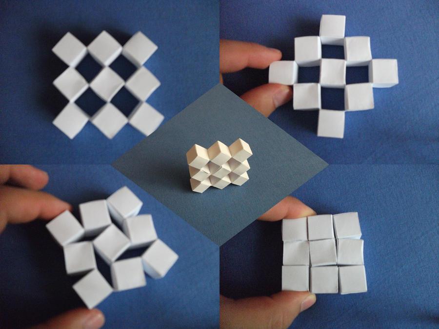 Как сделать кубики объемными 994