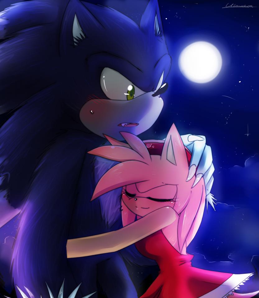 AT Hug the werehog by Klaudy-na on DeviantArt