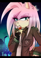 The Lollipop ~Amy Rose by Klaudy-na