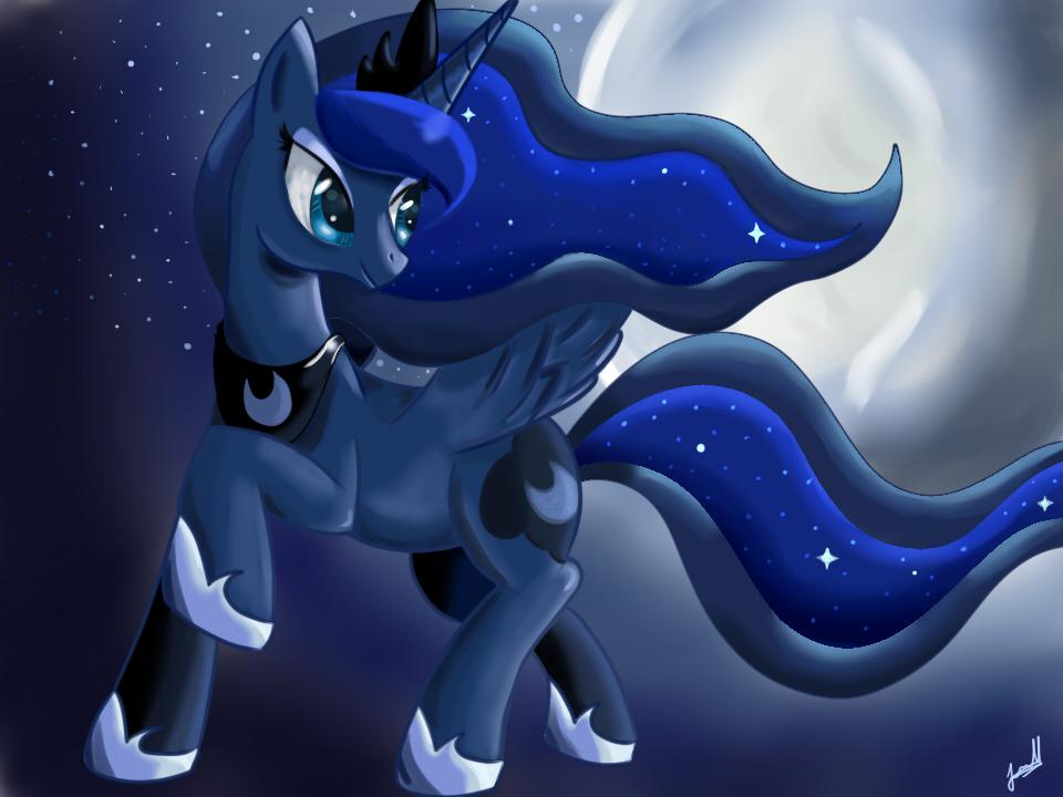 Princess Luna by Wolfais