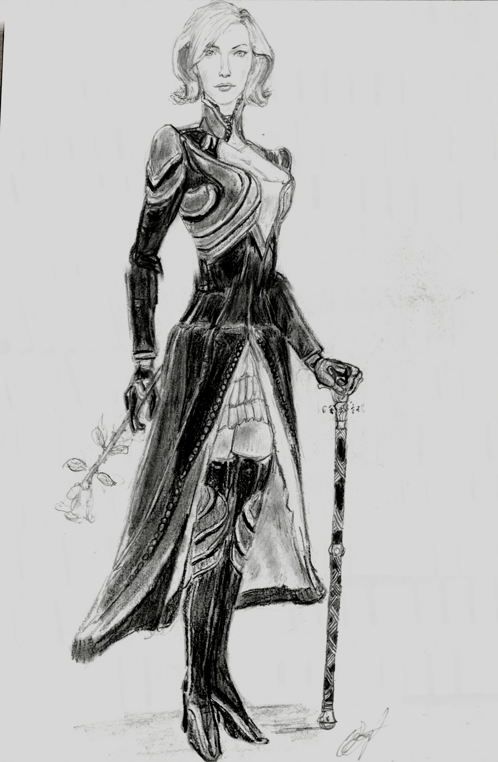 Cordelia Von Hoefer, Ascalonian mesmer (GW1) 3 by hieronymushoefer