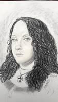 portrait of Helene by hieronymushoefer