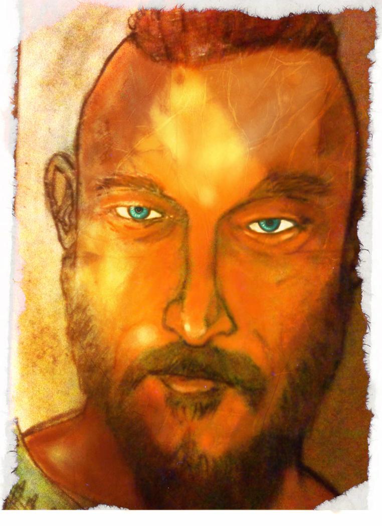 Ragnar  face by bauel