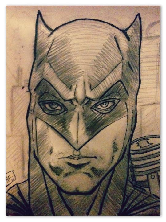 Batman vs superman by bauel