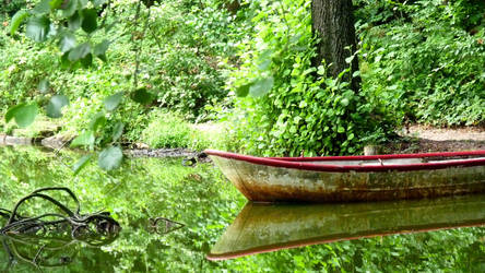 little boat by wernersbacher
