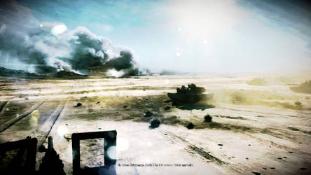 Battlefield 3 - Tankscene by wernersbacher