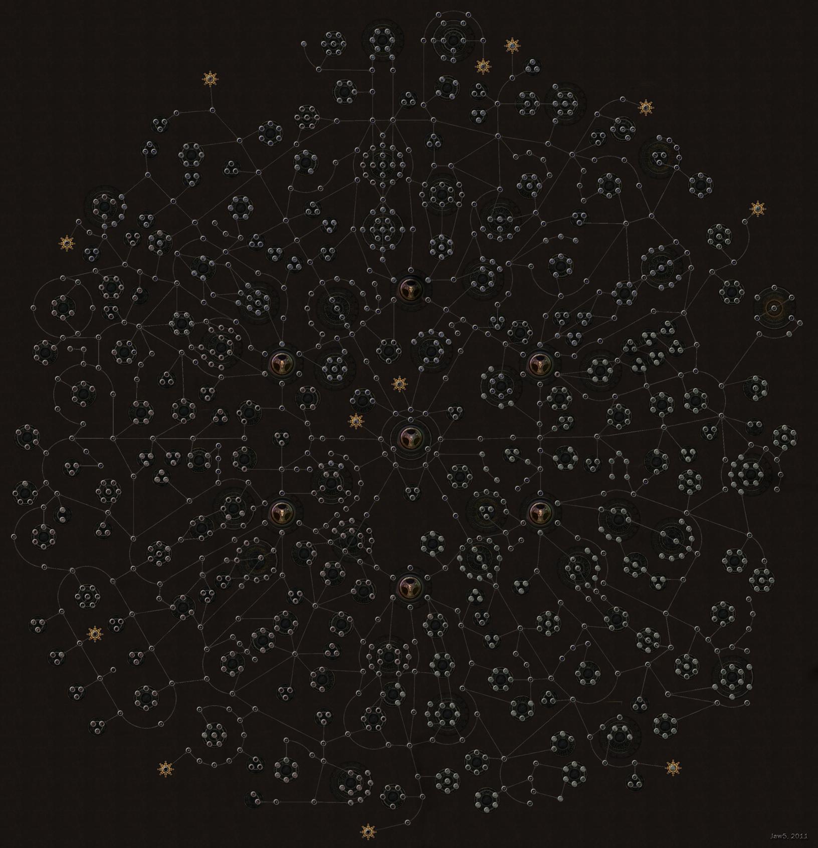 poe skill tree  by jawsofhana d4kgzrv - Hack & Slay: Path of Exile (Beta)