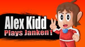 Alex kidd Plays Janken!