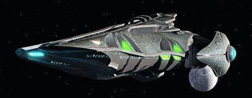 Voth Bastion Flight Deck Cruiser