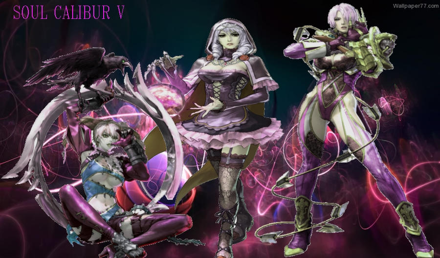 Soul Calibur Vwallpaper By Nightshade95 On Deviantart