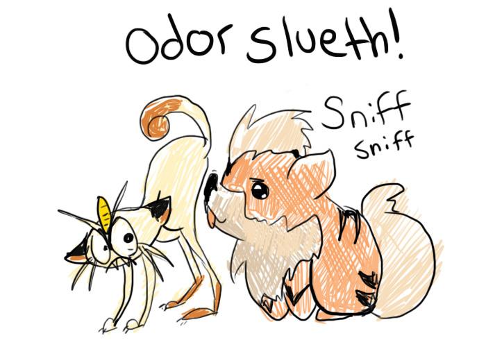 Growlithe used Odor Slueth! by Saltmint