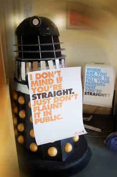 Dalek vs. Homophobia