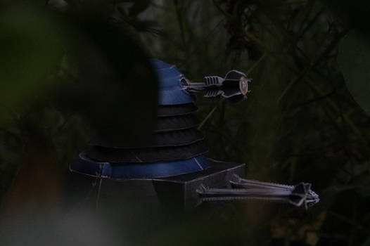New Dalek Papercraft