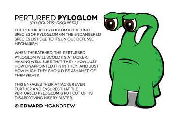 My monster - Perturbed Pyloglom by Audrey-2