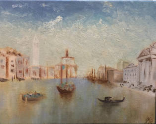 OLD Venice painting by mopdtk